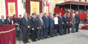 Autoridades civiles asistentes al acto