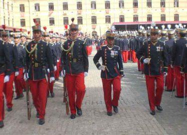 Jura de Bandera de Caballeros/Damas Cadetes y Alumnos de nuevo ingreso