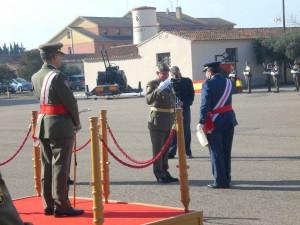 Entrega del título de Artilero Honorífico