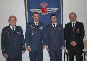 Los veteranos estuvieron representados