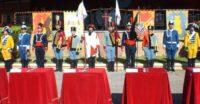 Soldados de la Brig. de Caballería Castillejos II y Rgto. España 11 con uniformes de época