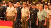 """El general jefe de la Brigada de Caballería """"Castillejos"""" II preside el acto"""