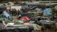 "Campamento ""la Jungla"" en Calais"