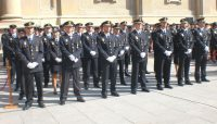 Formación de policías condecorados