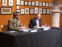 M.A. Santamaría presenta la conferencia