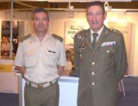 Delegado de Defensa y Sbtte. Solano