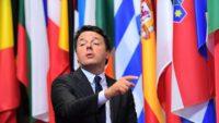 Primer Ministro de Italia Matteo Renzi