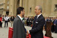 Manuel Bellido Aspas recibe la Cruz de Plata
