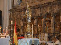 Imagen procesional de la Virgen del Pilar