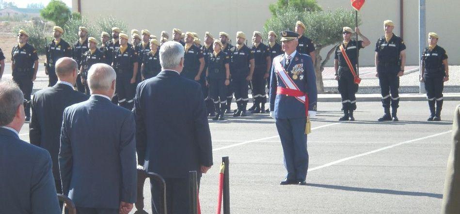 El jefe de Movilidad Aérea del Mando Aéreo de Combate preside el acto