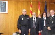 LOS REALES TERCIOS DE ESPAÑA VISITAN LA JEFATURA SUPERIOR DE POLICÍA DE ARAGÓN