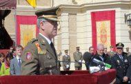 TOMA DE POSESIÓN DEL MANDO Y DIRECCIÓN DE LA ACADEMIA GENERAL MILITAR POR EL NUEVO GENERAL
