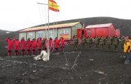 Un año más, efectivos del Ejército se adiestran para la Antártida en el Pirineo oscense.