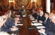 REUNIÓN DEL COMANDANTE MILITAR DE ZARAGOZA Y TERUEL CON ASOCIACIONES Y HERMANDADES VINCULADAS CON LAS FUERZAS ARMADAS