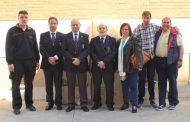 LOS REALES TERCIOS DE ESPAÑA HACEN ENTREGA DE UNA IMPORTANTE CANTIDAD DE ROPA EN EL CENTRO SOCIAL SAN ANTONIO DE ZARAGOZA