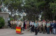 SE CONMEMORA EN ZARAGOZA EL 95º ANIVERSARIO DE LA MUERTE EN COMBATE DEL TENIENTE CORONEL DE LA LEGIÓN RAFAEL DE VALENZUELA Y URZAIZ