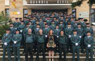 Más de 200 Agentes de la Guardia Civil se incorporan a prestar servicio en la Comunidad Autónoma de Aragón
