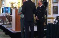 El Seprona de la Guardia Civil recibe premio del Príncipe Guillermo de Inglaterra