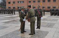 Relevo de Mando en el Regimiento de Pontoneros y Especialidades de Ingenieros no12