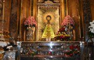 La Brigada Logística dona un Manto a la Virgen del Pilar