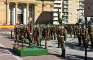 Octavo aniversario de la constitución de la Brigada Logística.