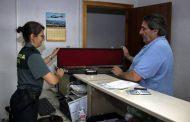 La Guardia Civil recuerda la necesidad de solicitar cita previa para la realización de trámites en las Intervenciones de Armas