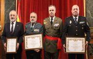 ENTREGA DEL PREMIO GENERAL PALAFOX Y DIPLOMA DE MÉRITO COMANDANTE MILITAR
