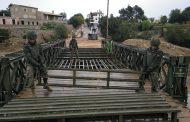 El RPEI 12 repliega el puente militar de Artá.