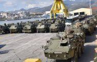 Unidades de la Comandancia General de Ceuta se adiestran en Zaragoza