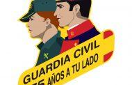La Guardia Civil de Aragón conmemora el 175 aniversario de la Fundación de esta Institución