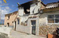 La Guardia Civil detiene a tres personas implicadas en el incendio de una vivienda de Épila