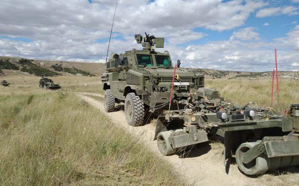 Las Fuerzas Armadas ponen a prueba sus capacidades contra artefactos explosivos