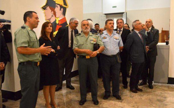 Exhibición de medios de la Guardia Civil con motivo del 175 aniversario de la Fundación de la Guardia Civil