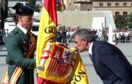 Jura de Bandera para personal civil en la localidad de Barbastro