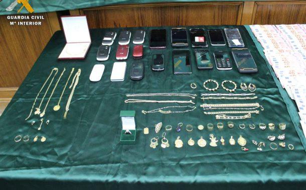 La Guardia Civil desarticula una organización criminal dedicada a la venta de sustancias estupefacientes en la Comarca de Valdejalón