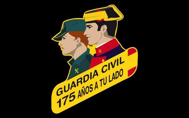 La Guardia Civil de Aragón agradece a los ciudadanos la gran acogida durante la celebración de los actos conmemorativos del 175 aniversario de la Fundación de esta Institución