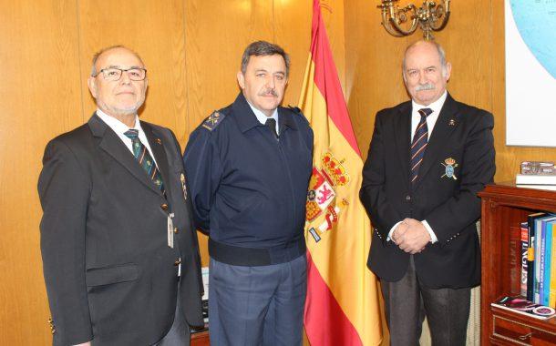 LOS REALES TERCIOS DE ESPAÑA VISITAN LA JEFATURA DE MOVILIDAD AÉREA DEL MANDO AÉREO DE COMBATE