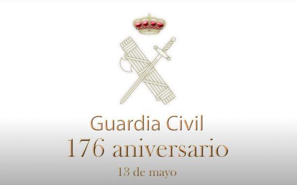 La Guardia Civil conmemora los 176 años de su fundación mediante un acto simbólico