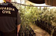 La Guardia Civil desarticula una organización criminal dedicada al tráfico de drogas que actuaba en Teruel, Zaragoza y Girona