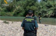 La Guardia Civil recupera el cuerpo sin vida de un joven en el cauce del río Gállego