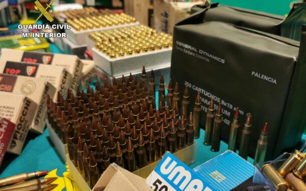 La Guardia Civil desarticula una red de tráfico de armas para el crimen organizado