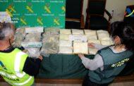 Intervenidos más de 36 kilos de metanfetamina y anfetamina valorados en casi 900.000 euros