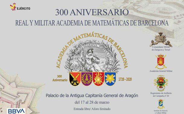 VISITA A LA EXPOSICIÓN 300 ANIVERSARIO DE LA REAL Y MILITAR ACADEMIA DE MATEMÁTICAS DE BARCELONA