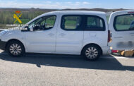 La Guardia Civil localiza más de un millón de euros en efectivo que se transportaban en un doble fondo de un vehículo