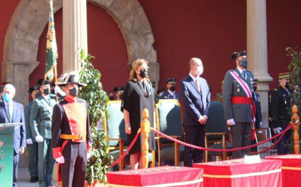 Actos celebración de la Patrona de la Guardia Civil en Zaragoza
